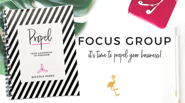 Propel Focus Group