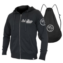 Load image into Gallery viewer, Lucky Penny Cycles Quick Flip Hero Hoodie / Backpack