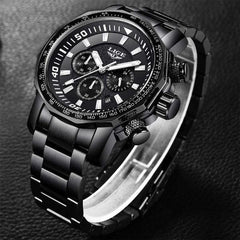 REGIMENT Men's Quartz Watch All black - Crafted In Time