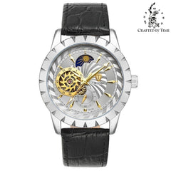 Crafted In Time black 3 Crafted Fashion Collection Jaga Automatic Watch