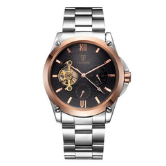 CENTIVIAL Tourbillon Men's Watch rose gold black - Crafted In Time