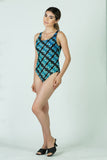 "Neon Lights ""Light Painting"" One Piece Swimsuit"
