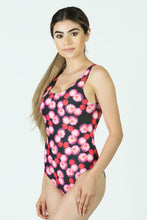 Load image into Gallery viewer, San Francisco Flowers One Piece Swimsuit