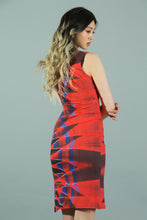 "Load image into Gallery viewer, 88 Lights ""Light Painting"" Long Bodycon Dress"