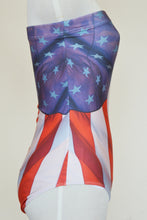 Load image into Gallery viewer, USA Flag Strapless Swimsuit