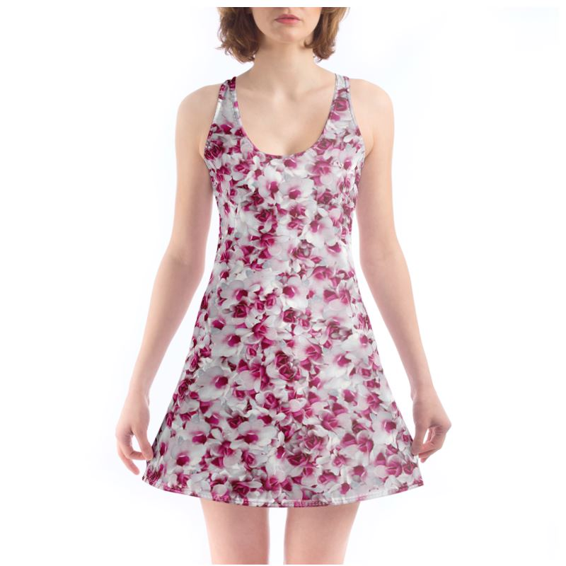 Chemise Dress Pink flowers