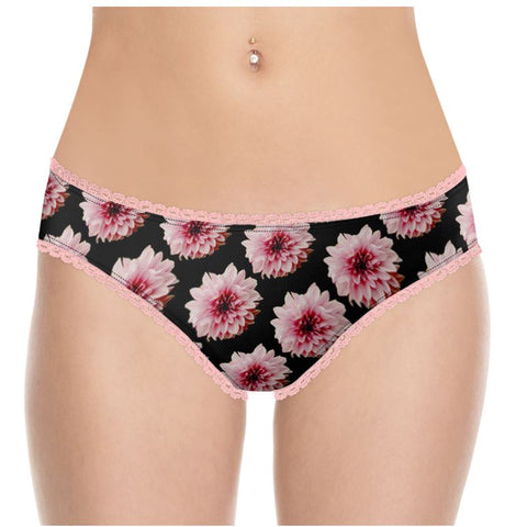 Custom Underwear Pink flowers