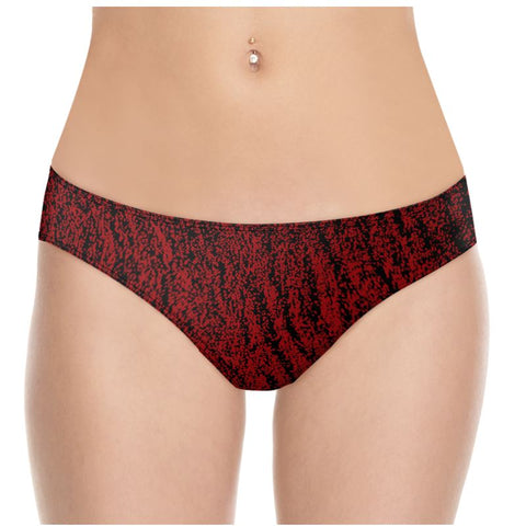Custom Underwear Montara Beach Red