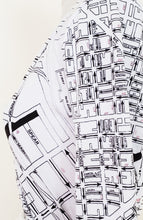 Load image into Gallery viewer, 1971 San Francisco Street Map Wrap Dress