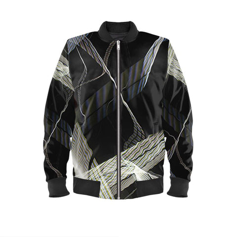 Driving the Bay Bridge Ladies Bomber Jacket