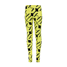 Load image into Gallery viewer, Yellow Neon Leggings