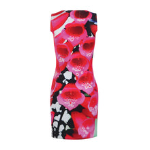 Load image into Gallery viewer, Bugle Bell Flowers Short Bodycon Dress