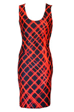 Load image into Gallery viewer, Berkeley Neon Lights Short Bodycon Dress