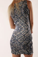 Load image into Gallery viewer, Over LA Short Bodycon Dress