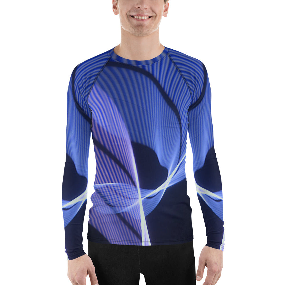 Driving the Bridge Rash Guard Shirt #4