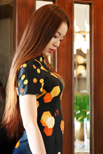 Load image into Gallery viewer, Fairmont Hotel Lights Qipao/Cheongsam Style Short Dress