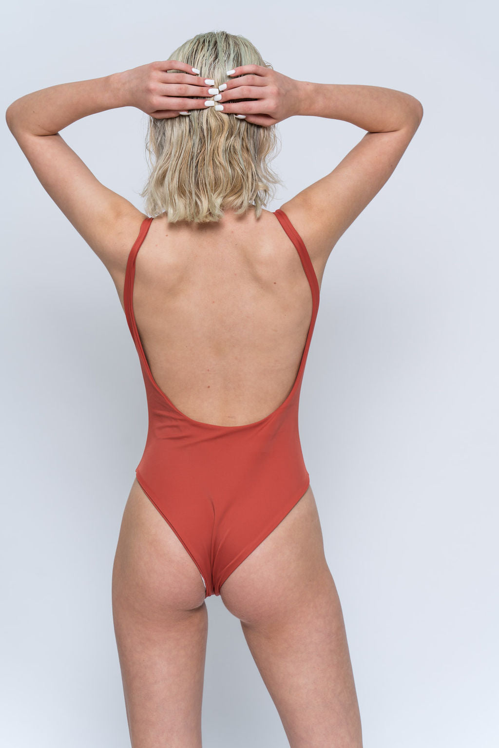 MILLY RUST ONE-PIECE
