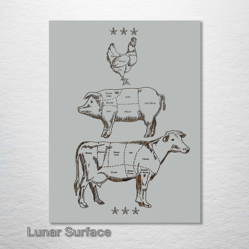 Butcher Abstract - Trio