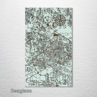 Cary, North Carolina Street Map - Fire & Pine
