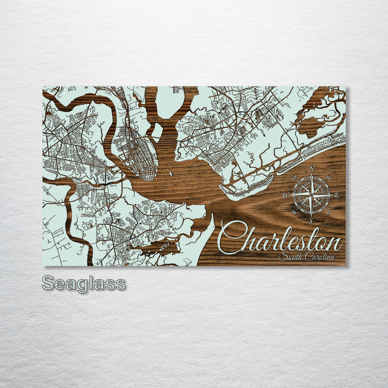 Charleston, South Carolina Street Map