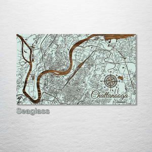 Chattanooga, Tennessee Street Map