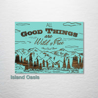 All Good Things Abstract