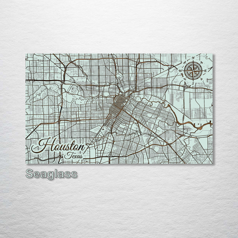Houston, Texas Street Map