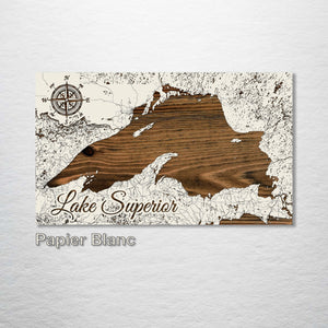 Lake Superior Street Map