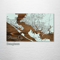 Panama City, Florida Street Map - Fire & Pine