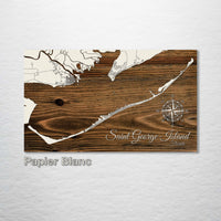 Saint George Island, Florida Street Map - Fire & Pine