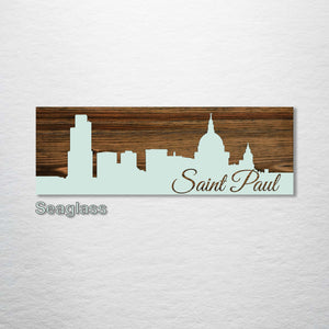 Saint Paul, Minnesota Skyline