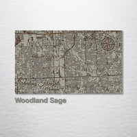 Sterling Heights, Michigan Street Map - Fire & Pine
