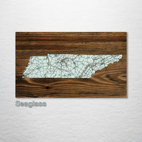 Tennessee Isolated Map