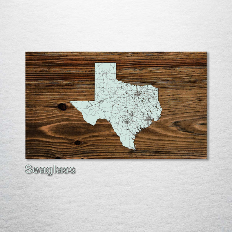 Texas Isolated Map