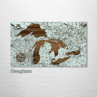 Great Lakes Street Map