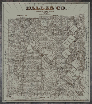 1884 Dallas County - Fire & Pine