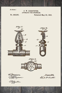 Fire Sprinkler 1893 - Fire & Pine