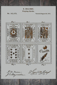 Playing Cards 1873 - Fire & Pine
