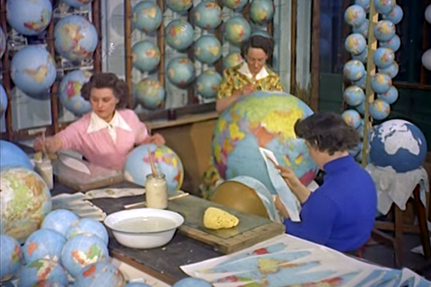 Must Watch: Globe Making in the 50's