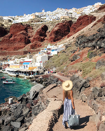 travel guide Greece Oia Santorini; MISCHA blog