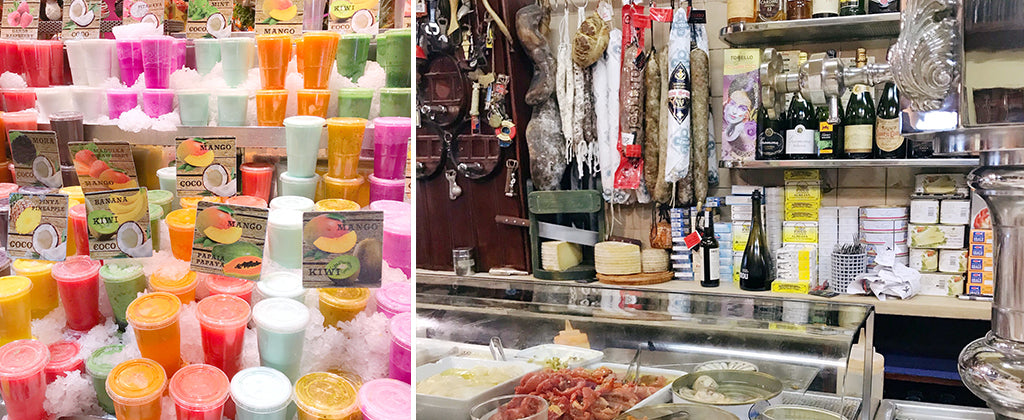 Travel Guide Barcelona; Mischa Blog spanish food la boqueria