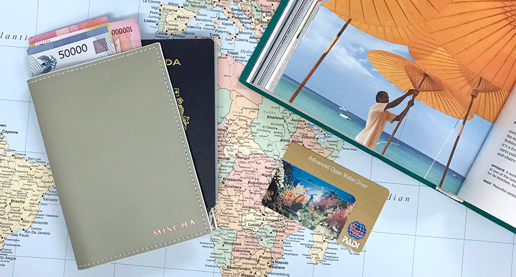 10 Travel Tips Frequent Travellers Swear By; mischa blog travel wallet passport holder