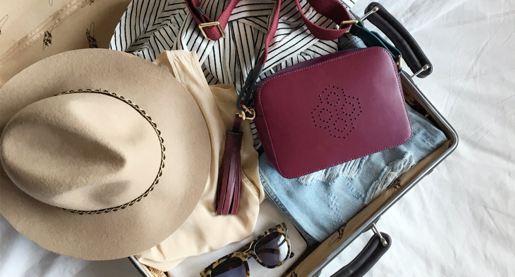 10 Travel Tips Frequent Travellers Swear By; mischa blog carry on monogram crossbody bag