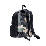 Mischa Backpack - Camo Green (Side view)