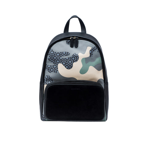 Jet Set Tote - Camo Green