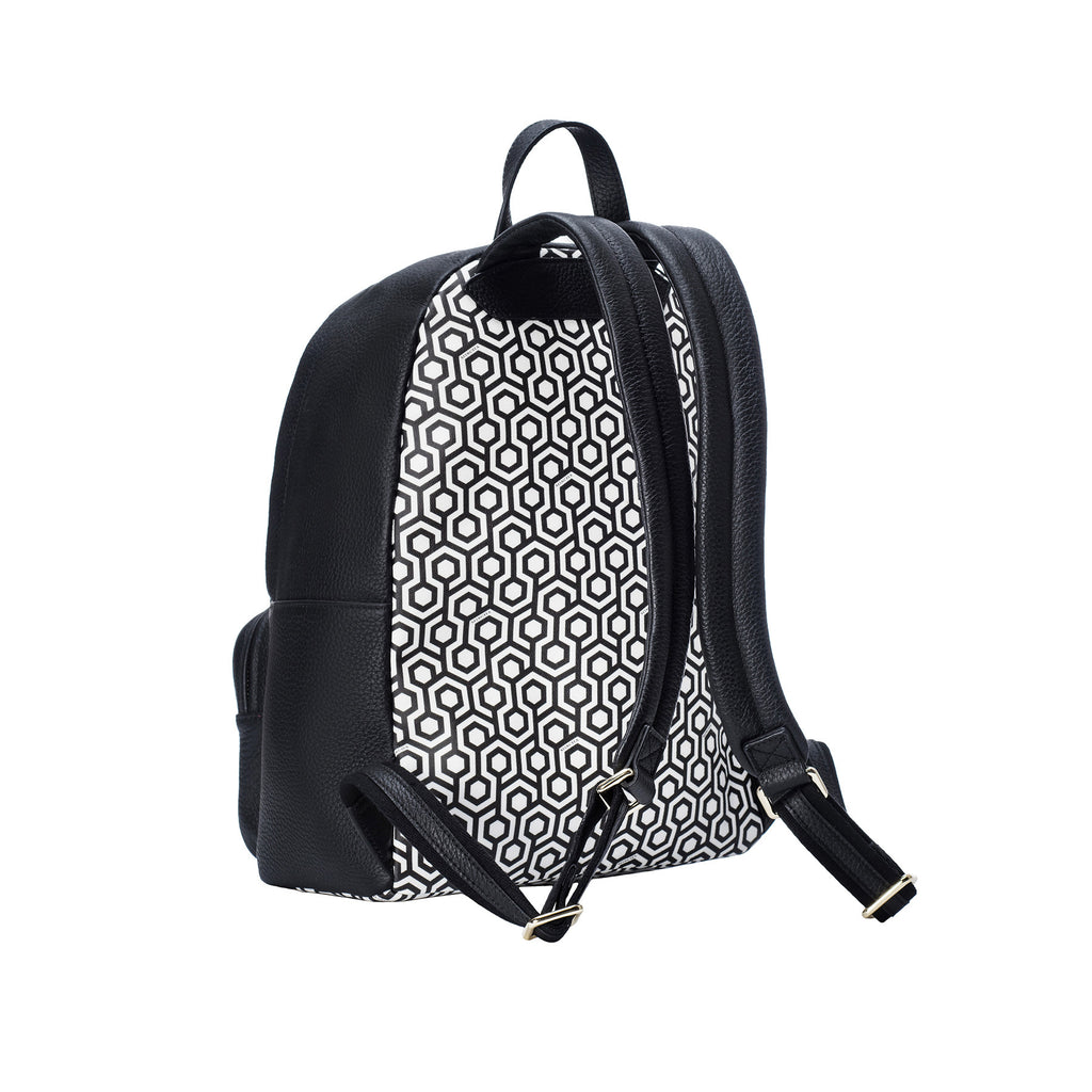 Mischa Backpack - Classic Black (Back view)