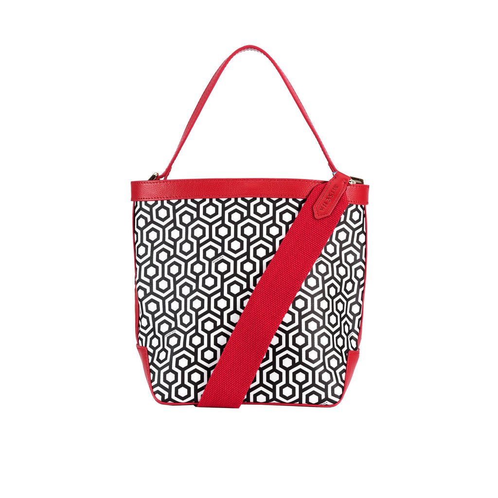 Mischa Bucket Bag - Classic Red