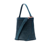 Mischa Bucket Bag - Fern (side)