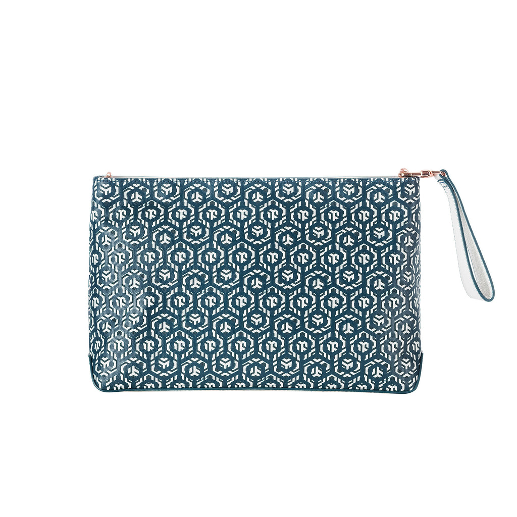 Mischa Crossbody Clutch - Palm (back)