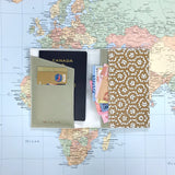Passport Holder - Rattan